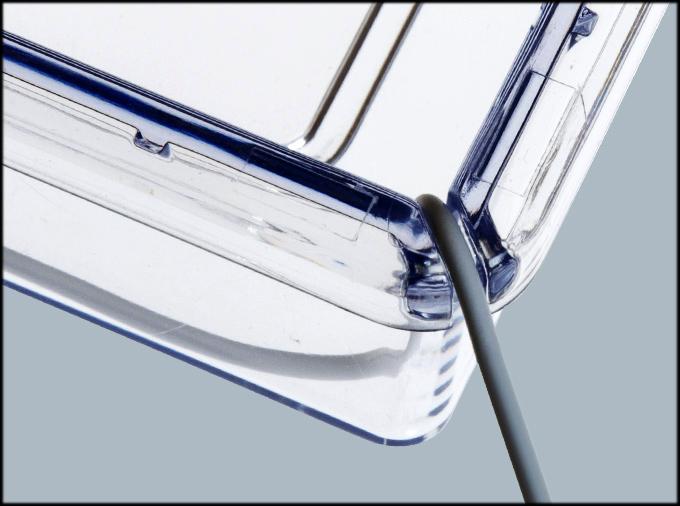 レプティギア300 センサーコード用溝