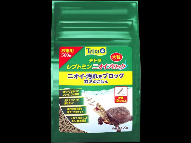 レプトミンニオイブロック大粒500gお徳用 テトラ Tetra